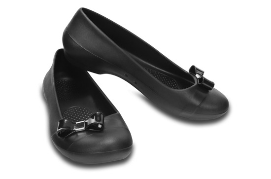 BALERINY CROCS GIANNA SIMPLE 200871 BLACK