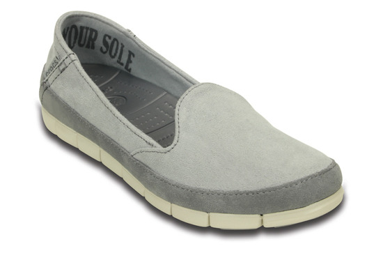 CROCS STRETCH SOLE SUEDE SKIMMER 201741