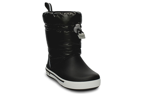 WOMEN'S SHOES SNOW BOOTS Crocs Crocband BLK 12772