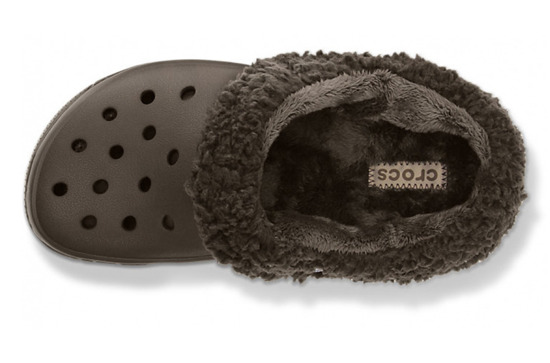 CHILDREN'S SHOES FLIP-FLOPS CROCS MAMMOTH 12879 ESPRESSO