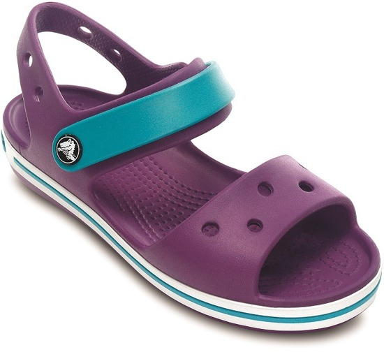 CHILDREN'S SHOES SANDALS CROCBAND KIDS 12856 Dhal