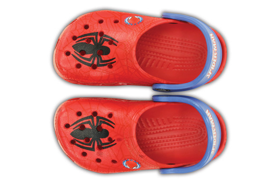 CROCS SHOES FLIP-FLOPS CLASSIC SPIDERMAN CLOG 200121