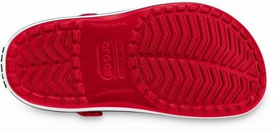 CROCS SHOES FLIP-FLOPS CROCSBAND RED 11016