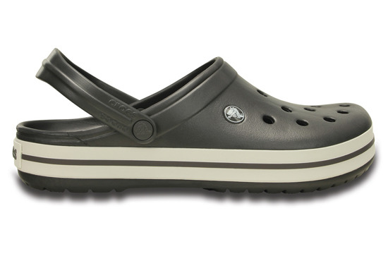 MEN'S SHOES CROCS CROCBAND 11016 GRAPHITE/WHITE