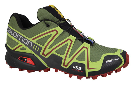 MEN'S SHOES SALOMON SPIKECROSS 3 CLIMA SHIELD 376091