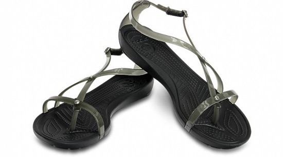 WOMEN'S CROCS REALLY SEXI FLIP SANDALS 14175 BLACK