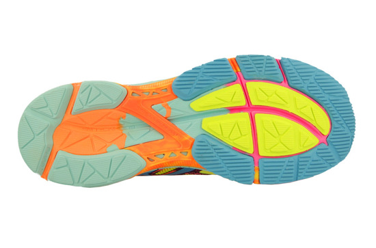 WOMEN'S SHOES ASICS GEL-NOOSA TRI 10 T580N 0739 RUNNING SHOES