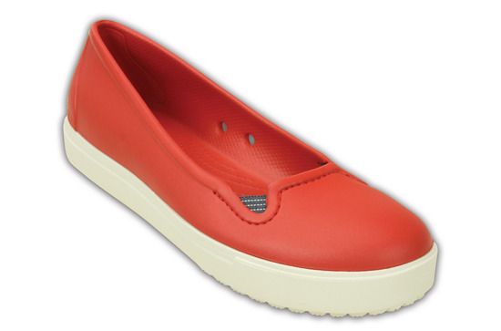 WOMEN'S SHOES CROCS CITILANE FLAT 202923 FLAME