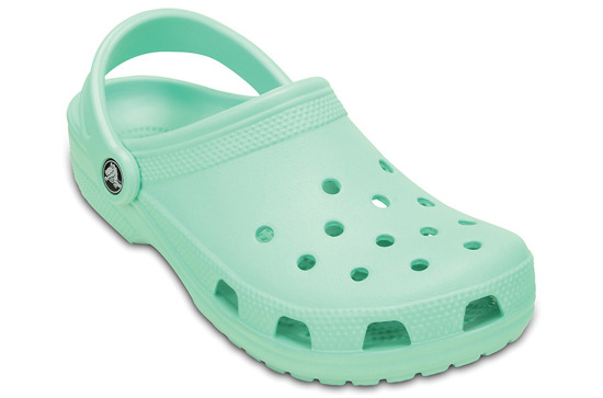 WOMEN'S SHOES CROCS CLASSIC 10001 NEW MINT