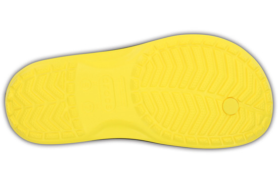 WOMEN'S SHOES CROCS CROCBAND FLIP 11033 LEMON
