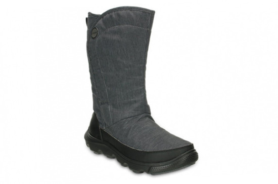 WOMEN'S SHOES CROCS Duet Busy Day Boot 15763 black