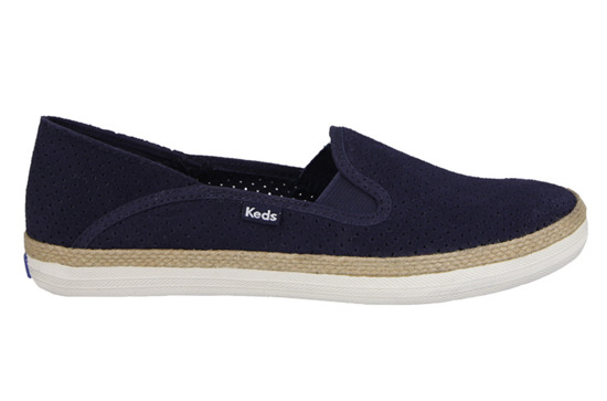 WOMEN'S SHOES KEDS CRASHBACK PERFORATED SUEDE WH54640