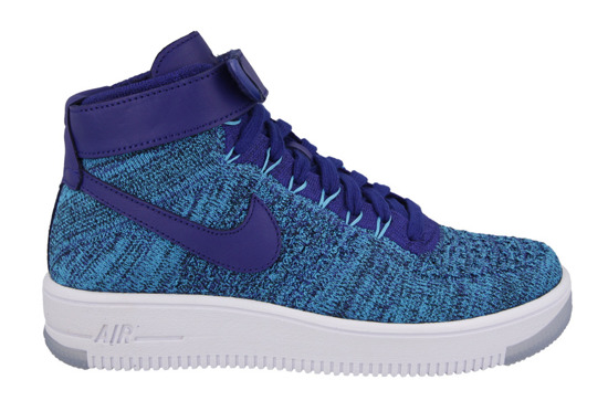 WOMEN'S SHOES NIKE AIR FORCE 1 FLYKNIT 818018 400