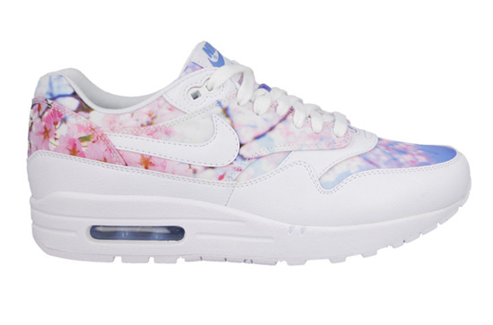 WOMEN'S SHOES NIKE AIR MAX 1 PRINT CHERRY BLOSSOM PACK 528898 102