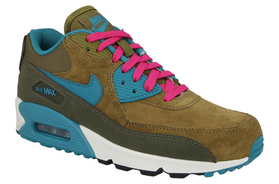 WOMEN'S SHOES  NIKE AIR MAX 90 LEATHER 768887 300