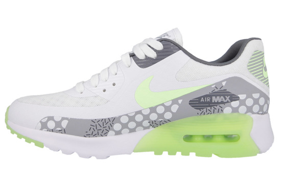 WOMEN'S SHOES NIKE AIR MAX 90 ULTRA BR PRINT 807352 100