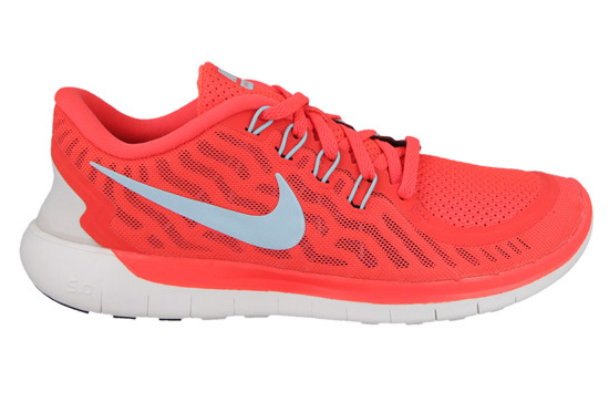 WOMEN'S SHOES NIKE FREE 5.0 BRIGHT CRIMSON 724383 601