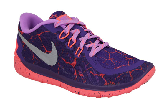 WOMEN'S SHOES  NIKE FREE 5.0 LAVA (GS) 807594 506