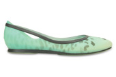 WOMEN'S SHOES CROCS RIO LEOPARD 203137 POOL