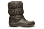 WOMEN'S SHOES SNOW BOOTS CROCS WINTER PUFF 14614 ESPRESSO