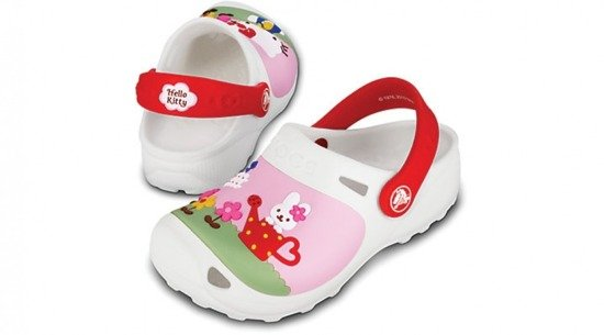 Crocs HELLO KITTY 11564 WEIβ