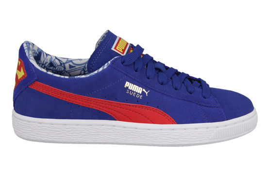 DAMEN SCHUHE PUMA SUPERMAN SUEDE JR 357653 04