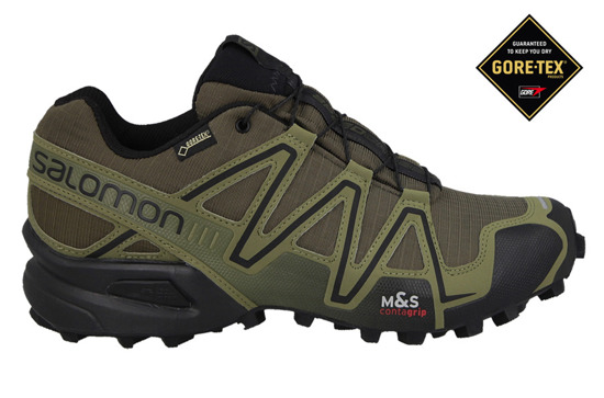 HERREN SCHUHE SALOMON SPEEDCROSS 3 GORE TEX 373323