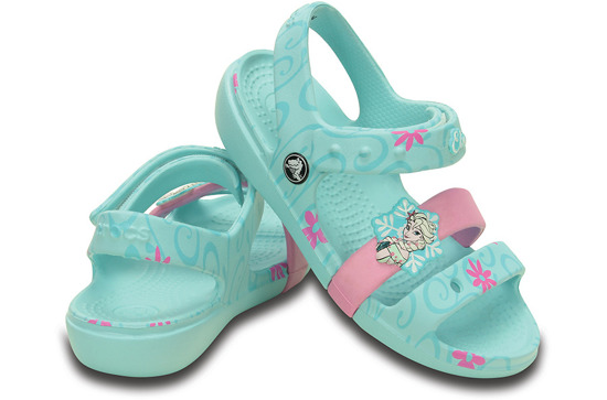 KINDER SCHUHE CROCS KEELEY FROZEN 202707 BLAU