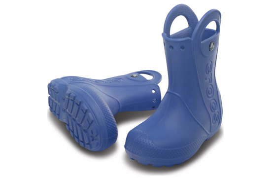KINDER SCHUHE GUMMISTIEFEL CROCS HANDLE IT RAIN BLAU 12803