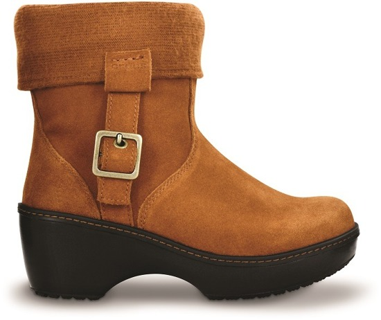 Crocs COBBLER ANKLE BOOT W Chestnut 11554