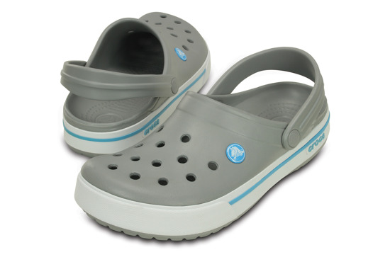 KLAPKI CROCS CROCBAND II.5 CLOG 12836 LIGHT GREY
