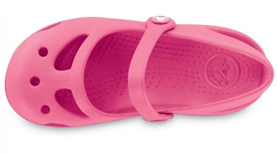 KLAPKI CROCS SHAYNA GIRLS 11372 HOT PINK
