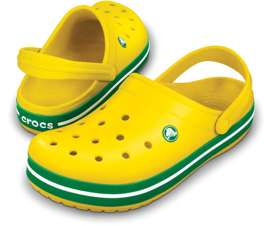 BUTY CROCS KIDS 10998  Yellow Green-35%