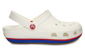 14001 WHITE  CROCS RETRO CLOG-25%