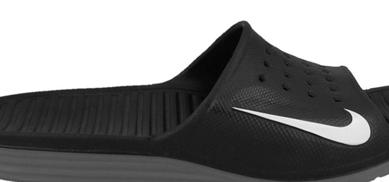 MEN'S FLIP FLOPS NIKE SOLARSOFT SLIDE 386163 011