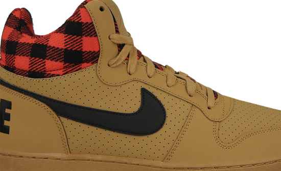 MEN'S SHOES NIKE COURT BOROUGH MID PREMIUM 844884 700