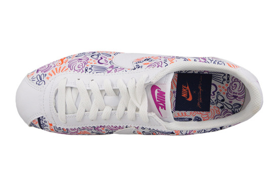 WOMEN'S SHOES NIKE CLASSIC CORTEZ PRINT 749865 115