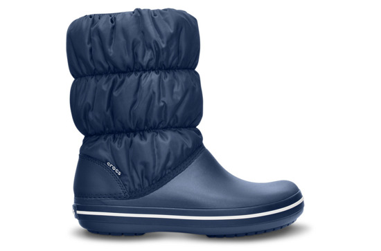 DAMEN SCHUHE CROCS WINTER PUFF 14614 NAVY
