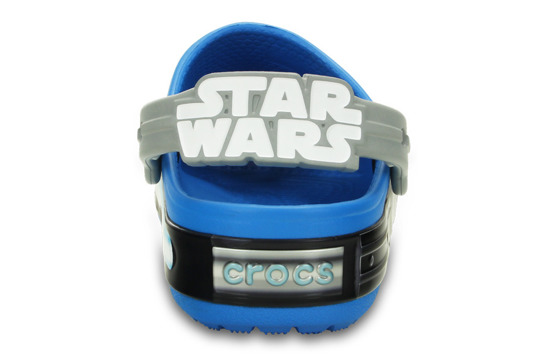 KINDER SCHUHE CROCS STAR WARS JEDI 16270 BLAU