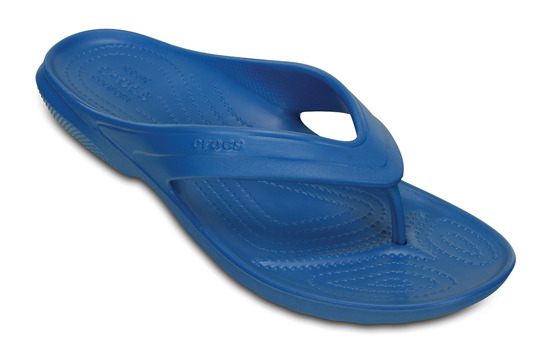 WOMEN'S SHOES CROCS CLASSIC FLIP 202635 BLAU