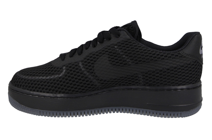 NIKE AIR FORCE 1 LOW UPSTEP BREATHE BLACK & WHITE