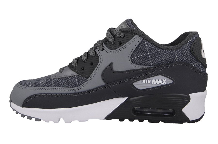 Buty dziecięce sneakersy Nike Air Max 90 Se Leather (PS) 859630 001 sneakerstudio.pl
