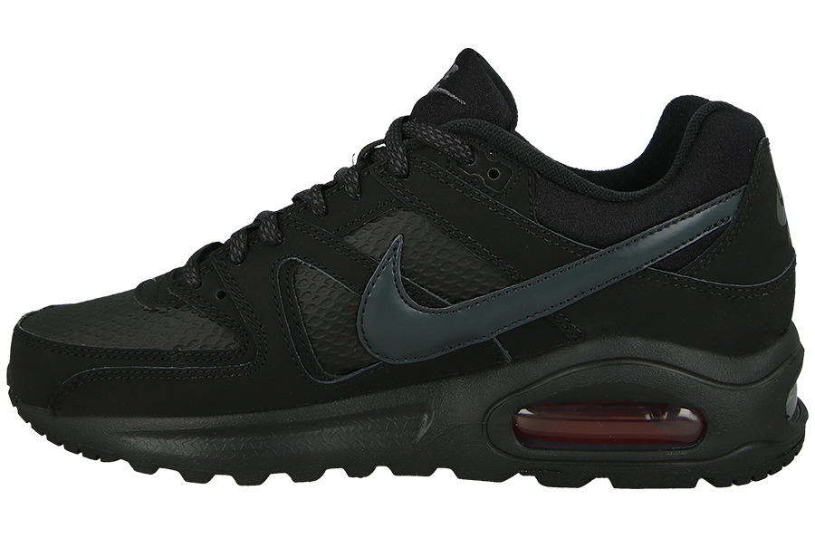 best service 95a44 ea4fc buty nike air max command leather czarne