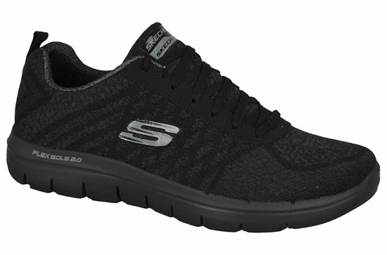 BUTY SKECHERS FLEX ADVANTAGE 52182 BBK