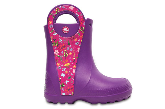 KALOSZE CROCS HANDLE IT 204839 AMETHYST